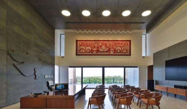 Mural for Chief Minister's office, Gujarat