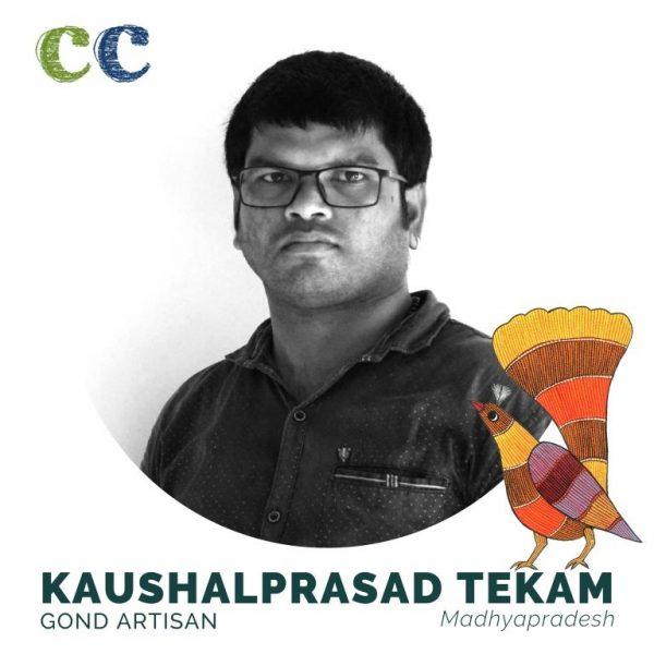 Gond artisan-Madhya Pradesh-craftsperson-Kaushal Prasad Tekam