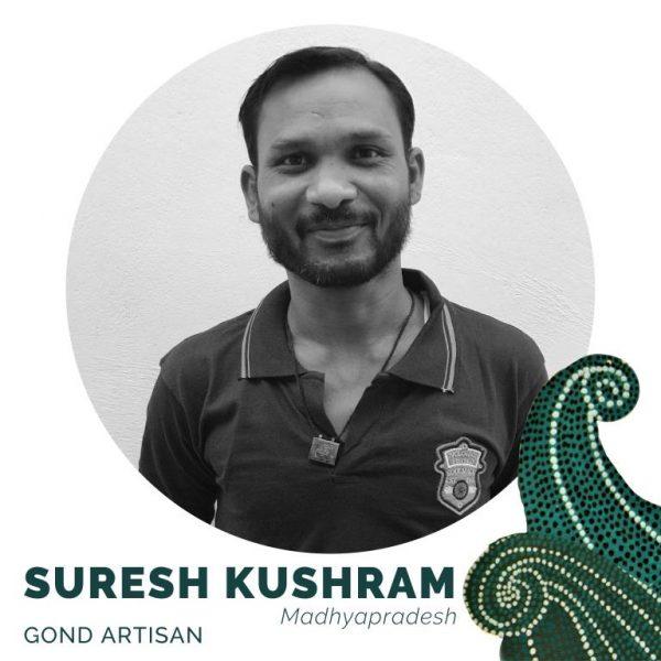 Suresh Kumar Kushram_Gond artisan_Madhya Pradesh_craftsperson